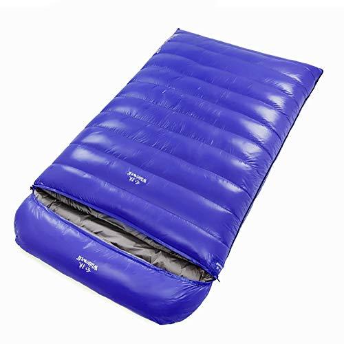 CX ECO 2000 Llene el Saco de Dormir eléctrico Bolsas de Dormir Momia Invierno Mantenga a los montañeros Calientes Bolsa de Dormir al Aire Libre -20 ℃ / 10 ℉ Bolsas de Dormir,Blue
