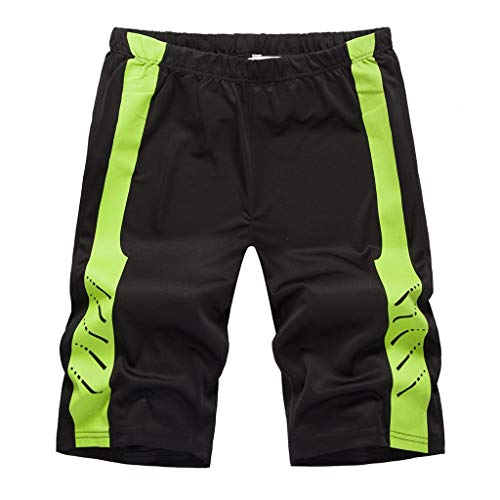 FRAUIT Zwemshort voor heren, patchwork, print, strandshorts met strepen, sneldrogende broek, strandbroek, shorts en joggingbroek