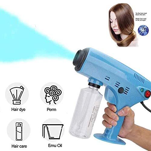 XYZCUP Multifunzione Nano Hair Steam Spray Pistola A Vapore per Blu-Ray Crema Idratante Viso Cura dei Capelli Pulizia Profonda per Casa E Ufficio Stru