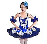 ZYLL Niñas Danza Trajes Ballet Tutu Lago Ballet Blanco Rojo Azul...