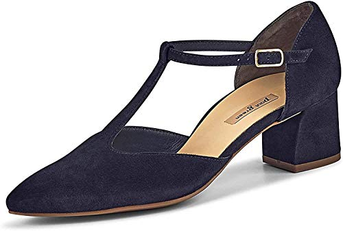 Paul Green 3744 Damen Pumps Blau, EU 39