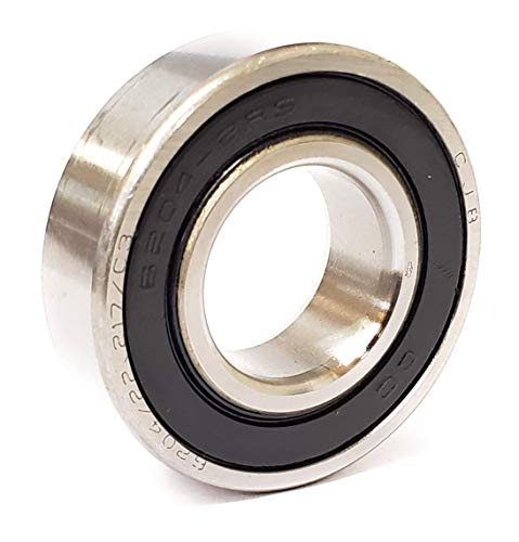 6204-7/8-2RS UJB Rubber Seals Ball Bearing