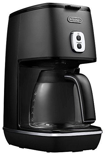 デロンギ(DeLonghi) ディスティンタコレクション ドリップコーヒーメーカー ブラック 6杯 ICMI011J-BK