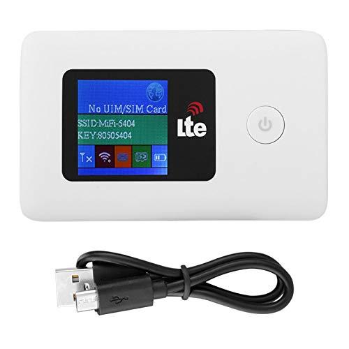 Socobeta Hotspot WiFi móvil Mini portátil LR113D 10/100/1000Mbps 150Mbps 4G WiFi Router Punto de Acceso inalámbrico móvil