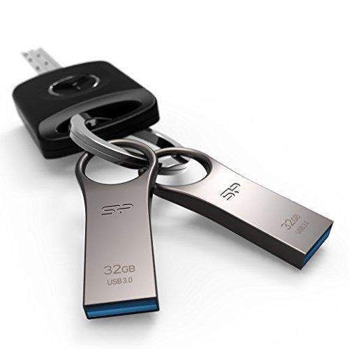 『シリコンパワー USBメモリ 32GB USB3.0 防水 防塵 耐衝撃 亜鉛 合金デザイン 永久保証 Jewel J80 SP032GBUF3J80V1TEJ』の4枚目の画像