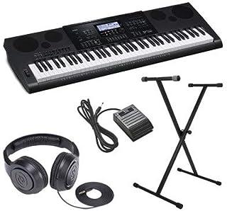 Casio CWK7600 4 pc Ultra-Premium Keyboard Package With Headp