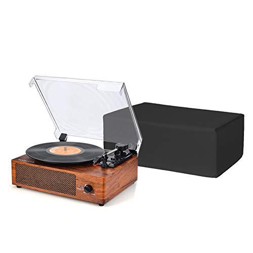 QEES Schutzhülle für Drehscheibe & Plattenspieler, Universalgröße DJ-Plattenspieler-Etuis, Wasserwiderstandsfähig, antistatisch HYJJZ617