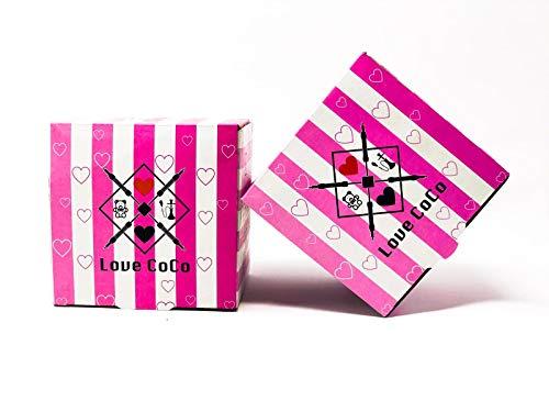 Preisvergleich Produktbild LOVE COCO / 1KG / Premium Kokosnuss Naturkohle für Shisha & BBQ