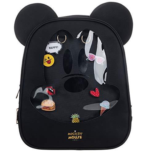 Disney Micky Maus Cartoon Kunstleder-Rucksack