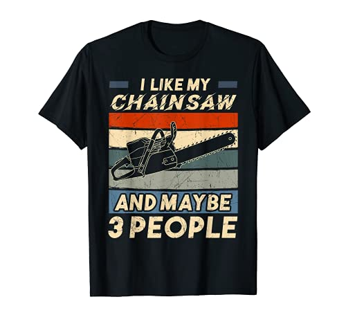 Chainsaw Carving Carpentry Joiner Cabinet Woodworking T-Shirt