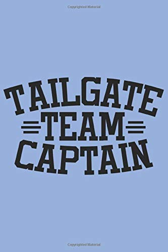Tailgate Team Captain: Dot Grid Football Legend Notebook for the Season Winner. Put in your Notes, Thoughts, Ideas, Cards and Points (6x9 inches) Pointed DIN A3 Journal
