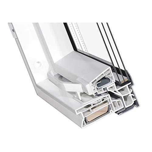 Kunststoff Dachfenster 55x98 cm OptiLight Energie mit 3-fach Verglasung, Lüftungsblende und Eindeckrahmen | Schwingfenster von FAKRO Gruppe