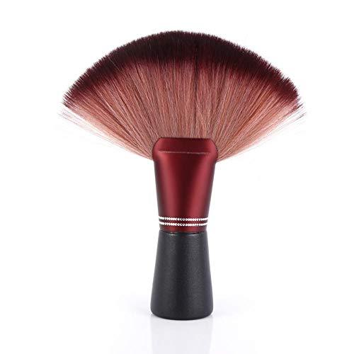Cepillo grande en forma de abanico suave, diseñado para peluquero estilista, cepillo...