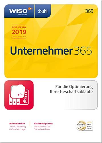 WISO Unternehmer 365 (aktuelle Version 2019) Optimierung Ihrer Geschäftsabläufe | 2019 | PC | PC Aktivierungscode per Email
