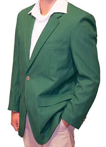 Amazing Deal Trophy Club Green Blazer Jacket by ReadyGOLF - Size 50 Reg