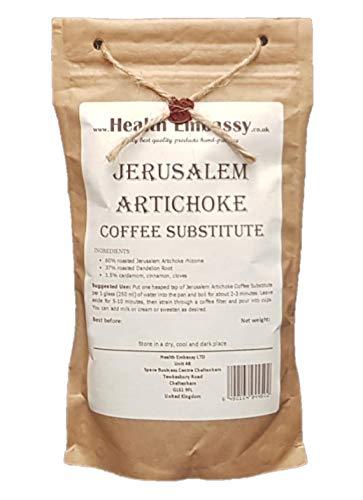 Health Embassy Jeruzalemartisjok Koffievervanger   Jerusalem Artichoke Coffee Substitute (200g)