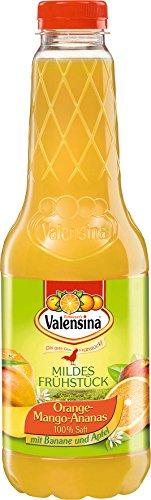 Valensina - Mildes Frühstück Orange-Mango-Ananas-Saft Mehrfruchtsaft - 1,0l