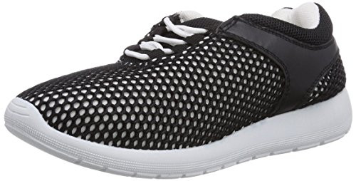 Blink Damen Bronin-injectedL Sneakers, Mehrfarbig (White/Black 204), 36 EU