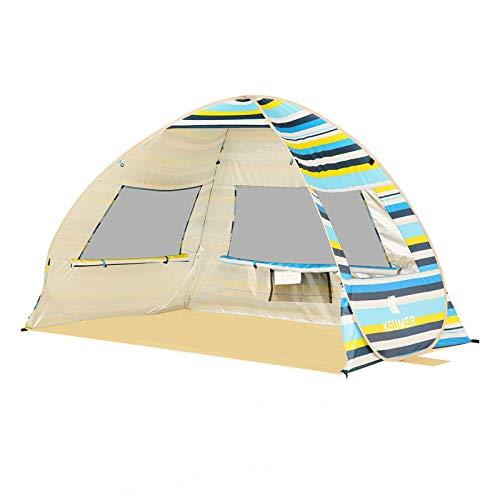 SDSA Automatic Pop-Up2People Ultralight Waterproof Tent, Park, Beach, Outdoor Leisure And Indoor Activities,200*135*130cm