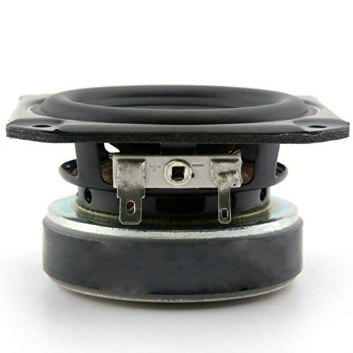 LITAO-XIE, 1pcs 3-Zoll-Audio Tragbare Lautsprecher Full Range 4 Ohm 40W Hochtöner Mitteltöner Tieftöner for Peerless Auto Bluetooth Lautsprecher (Größe : 3)