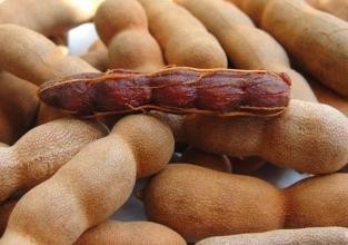 Süße Tamarinde getrocknete Früchte 1000 Gramm aus Yunnan China (云南干果甜角)
