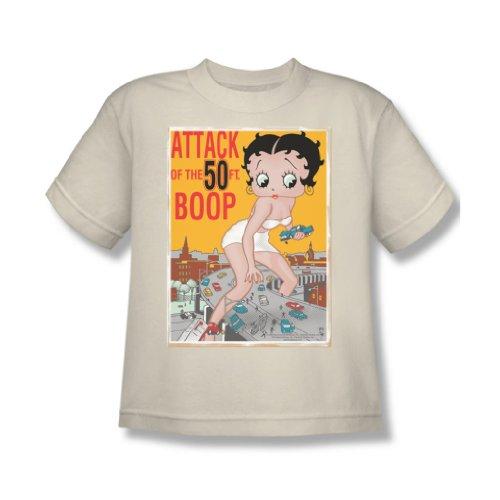 Betty Boop - El ataque de los de 50 pies Boop Camiseta...