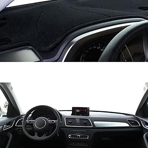 NUIOsdz Alfombrilla para salpicadero de coche, alfombrilla para salpicadero, parasol automático, alfombrilla para salpicadero, para Audi Q3 8U 2012 2013 2014 2015 2016 2017 2018
