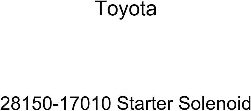 TOYOTA Latest item Brand Cheap Sale Venue 28150-17010 Solenoid Starter