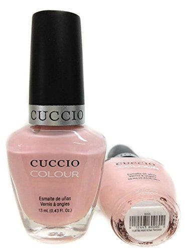 Cuccio Nail Lacquer Polish I Left My Heart in San Francisco Pale Natural Pink 13ml by Cuccio (English Manual)