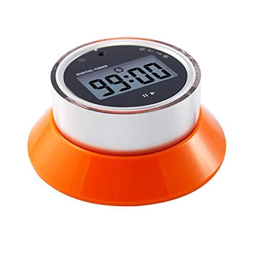 xMxDESiZ Kochen Alarm Counter Clock Backen Erinnerung Countdown Magnetic Kitchen Timer Orange