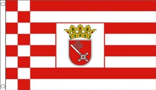 Size 5x3 Feet BRANDENBURG FLAG BRANDENBURG GERMAN STATE FLAGS