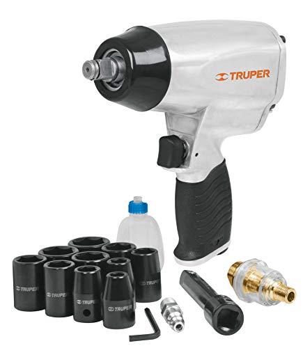 Truper TPN-731EK, Kit de pistola de impacto 1/2' (llave) con estuche plást