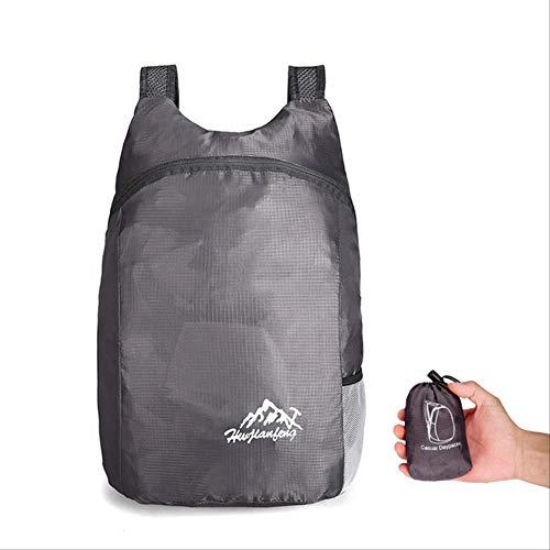 Generic Brands Sac à dos pliable pour randonnée 20 l et portable étanche Convient pour les voyages en plein air Camping