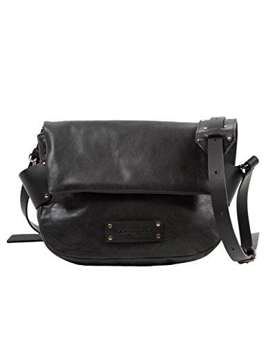 Hüftgold Damen Bag No. 103 Umhängetaschen, Grau (Dark Grey 96), 24x17x8 cm