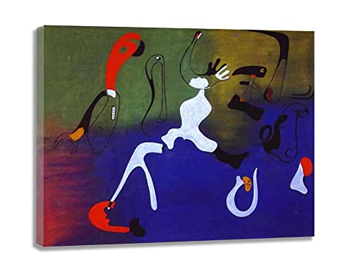 CuadrosDecoracionSalonDecoracion Composición Joan Miró FotoMuralParedLienzosDecorativosCuadrosDecoracionDormitoriosMuralesParedParaDormitorios 70x91cm 28