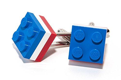 Briques Lego Ensemble de boutons de manchette Grande-Bretagne France Olympique GBR