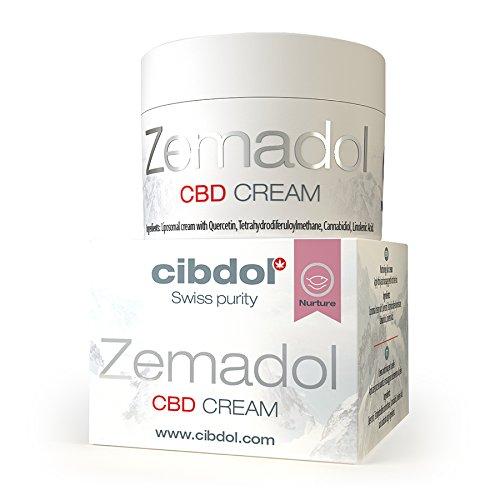 Cibdol Zemadol CBD Cream 50 ml – para aplicación en eczemas