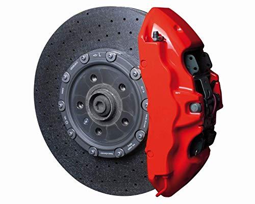 K2 Vernice Alta Temperatura Temperature Vernice Bomboletta Spray Freni MARMITE PINZE 400ML Auto Tuning 260°C (Rosso)