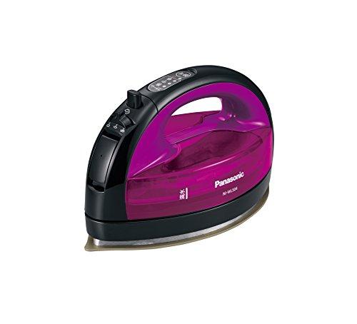 パナソニック コードレススチームWヘッドアイロン バイオレット NI-WL504-V