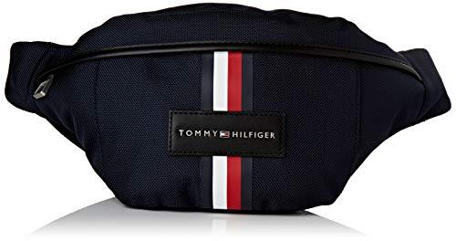 Tommy Hilfiger Crossbody, Borsa A Tracolla in Nylon Uptown Uomo, Capitano Sky, OS