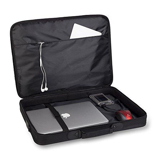 MONRAY PASSANGER Plus - Maletín de nylon para ordenador portatil de 18'