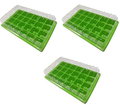 MultiDepot 745202 - Mini serra, 3 x 24 celle