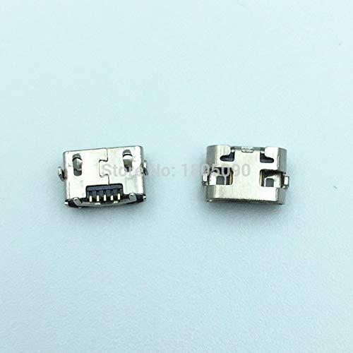 IGOSAIT 10 unids Micro USB 5Pin DIP2 Mini Conector Puerto de carga móvil para for Huawei Y5 II CUN-L01 MINI MEDIAPAD M3 LITE P2600 BAH-W09 / AL00