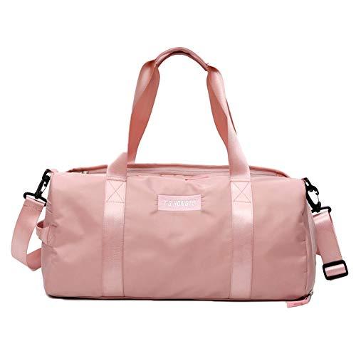 DELIBEST Travel Duffle Bag For Women & Men, Dry & Wet Separation Waterproof Swimming Bag,...