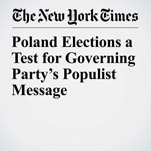 『Poland Elections a Test for Governing Party's Populist Message』のカバーアート