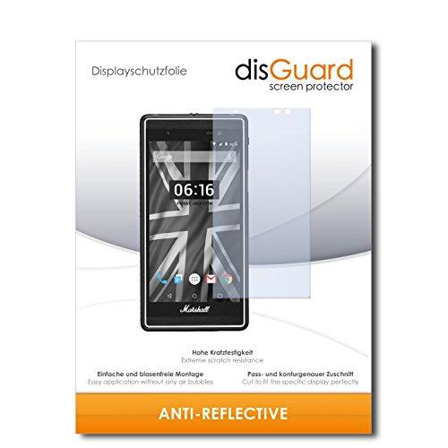 disGuard Bildschirmschutzfolie für Marshall London [2 Stück] Anti-Reflex, MATT, Entspiegelnd, Extrem Kratzfest, Anti-Fingerabdruck - Bildschirmschutz, Schutzfolie, Panzerfolie