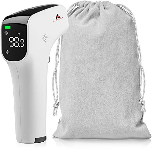 Non Contact Infrared Temperature Scanner for Adults Kids Baby Thermometer no Touch Forehead Digital Scanner Contactless Scanner for Fever Infrared Scanner Temperature Indicator infrarojo pc828