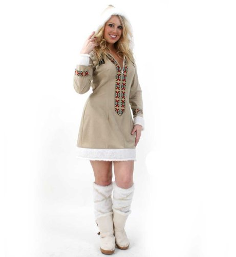 Gurimotex Disfraz de mujer esquimal (talla 44)
