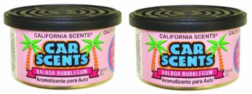 California Scents Lufterfrischer Balboa Bubble Gum, 2 Stück