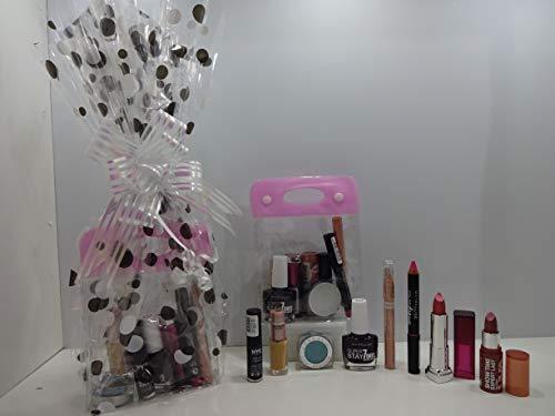 Noël vente ~ Luxe 8PC Maquillage Beauté Boîte cadeau Ensemble cadeau Mix marques ~ l'oréal – Bourjois – Rimmel – Ville Couleurs – Miss Sporty – Astor – Mix marques dans une boîte cadeau Emballé.